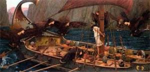 """Ulisse e le sirene"" John William Waterhouse"